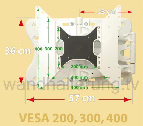 Premium Wandhalterung LCD LED Plasma - 804