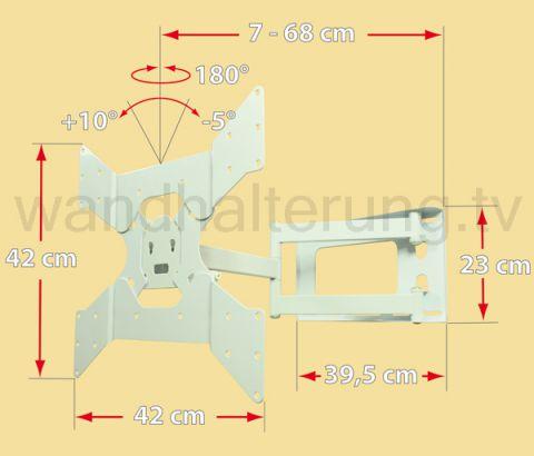 TV Wandhalterung LCD LED Plasma 328