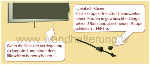 Wandhalterung LCD LED Plasma TV - 8312