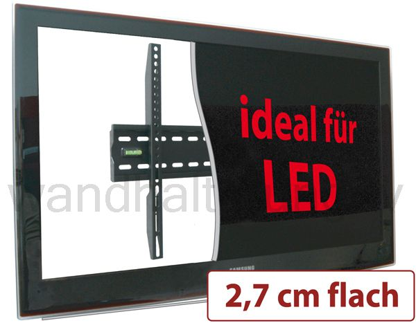 flache led tv wandhalterung f r 32 55 zoll modell 8755. Black Bedroom Furniture Sets. Home Design Ideas