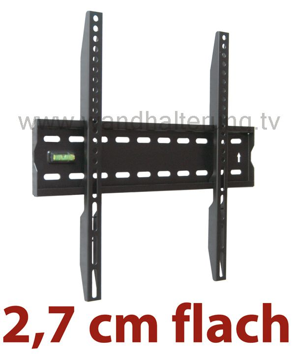 tv wandhalterung quipma 8755 sehr flach 37 60 zoll bis vesa 400 40kg ebay. Black Bedroom Furniture Sets. Home Design Ideas